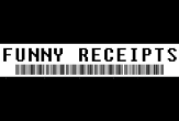 Funny Receipts - Fun, fun and fun.